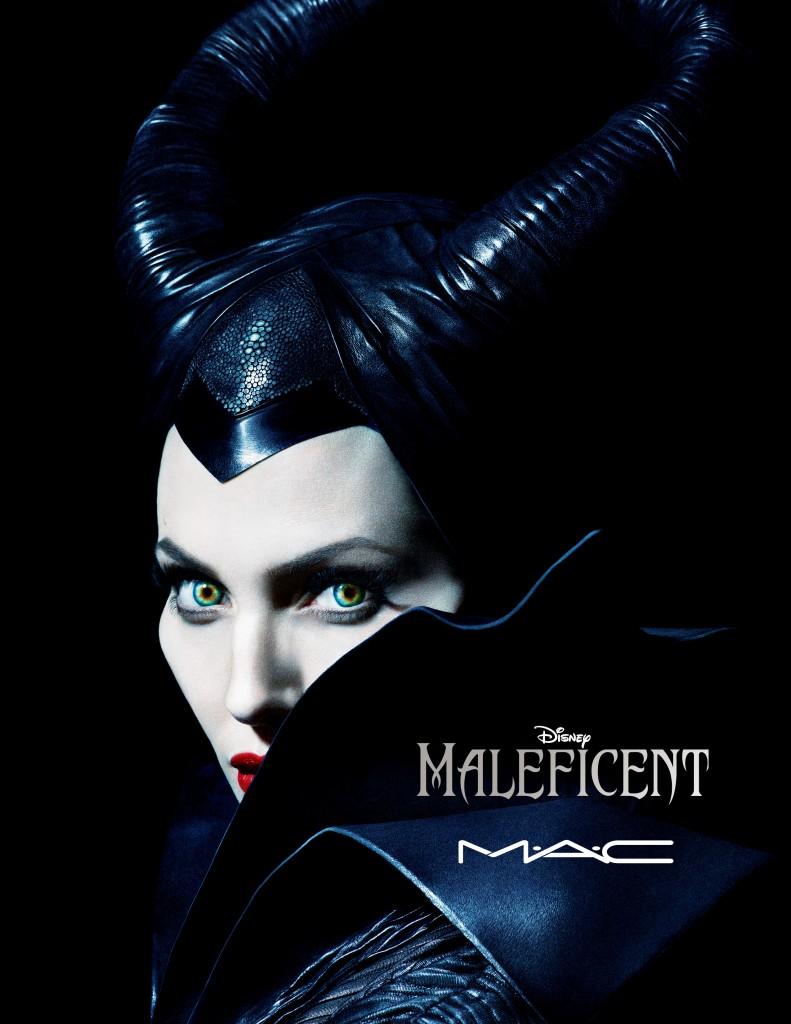 MAC Maleficent Makeup Look