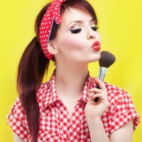 Pinup Girl Makeup Look