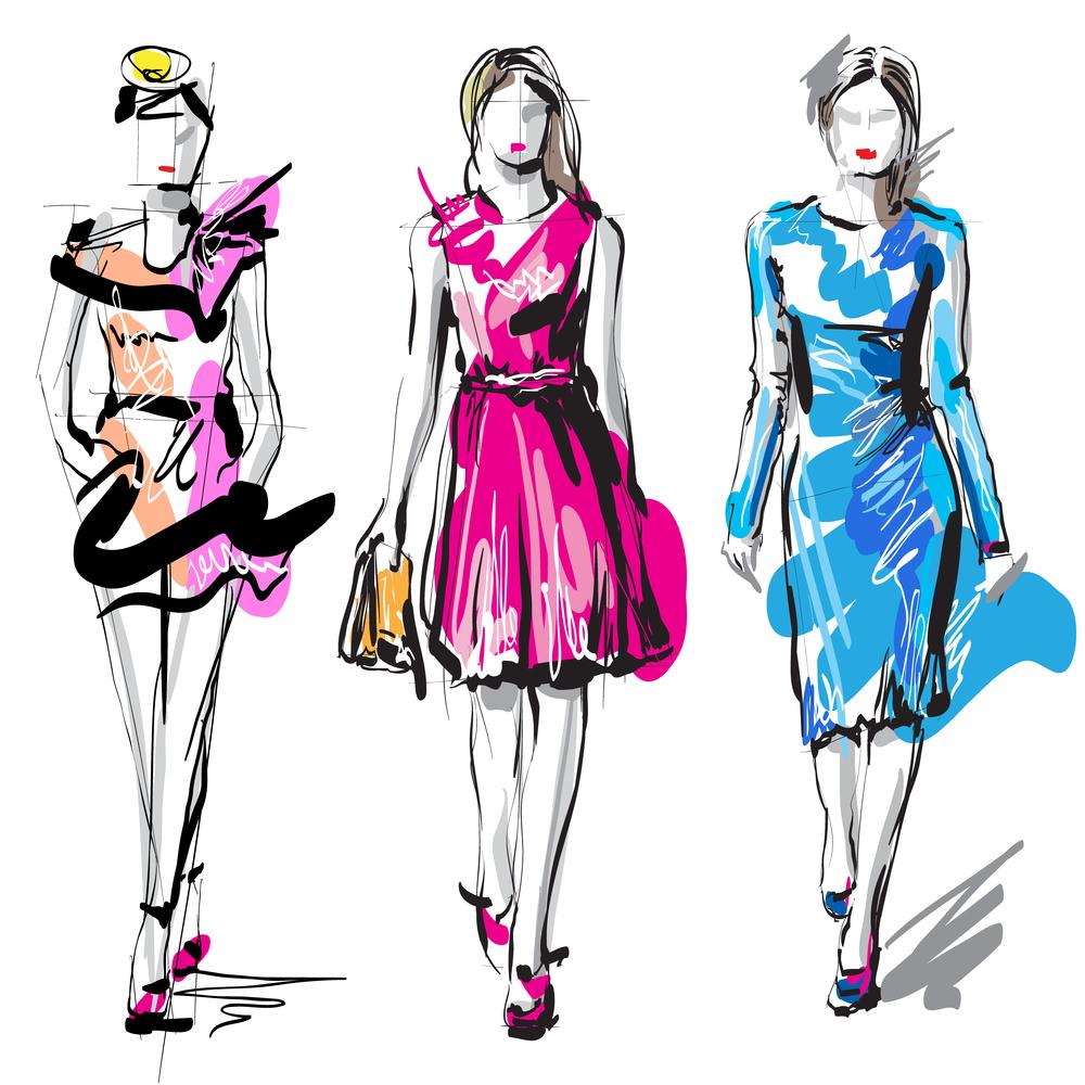Fashion Dress Design Sketches Mia Testa