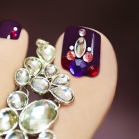 Pretty Toe Nail Art